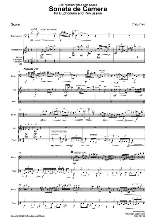 Sonata de Camera sample1