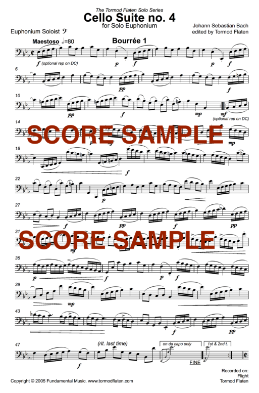 Cello Suite sample1